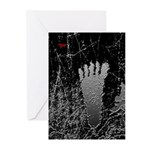 Neon Foot Greeting Cards (Pk of 10)