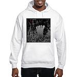 Neon Foot Hooded Sweatshirt