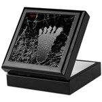 Neon Foot Keepsake Box