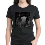 Neon Foot Women's Dark T-Shirt
