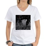 Neon Foot Women's V-Neck T-Shirt