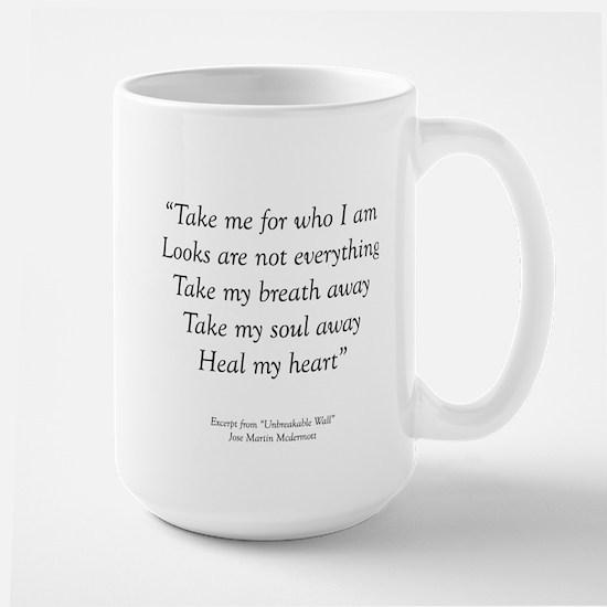 Unbreakable Excerpt Large Mug