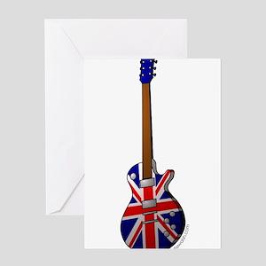 guitar Greeting Cards