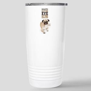 RD Pug Beauty Stainless Steel Travel Mug