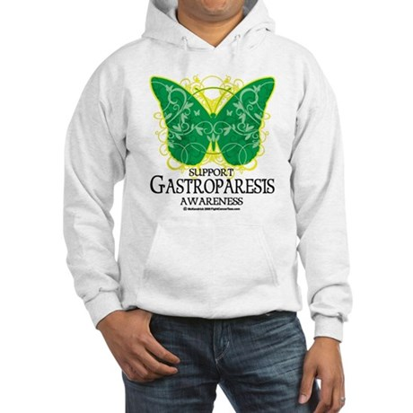 Gastroparesis Butterfly Hooded Sweatshirt