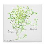 Thyme Tile Coaster