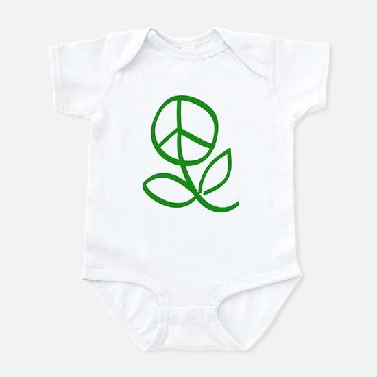 Peace Grows Infant Bodysuit