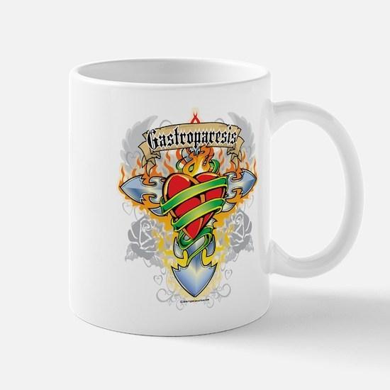 Gastroparesis Cross And Heart Mug
