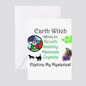 Earth Witch Greeting Cards (Pk of 20)