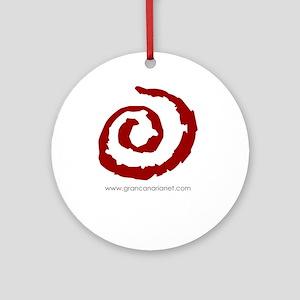 Gran Canaria Net logo  Ornament (Round)