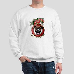 Christmas - Deck the Halls - Boxers Sweatshirt