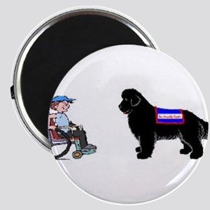 Therapy dogs Magnet