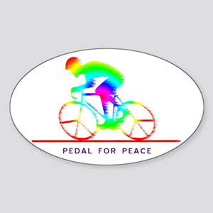 pedal4peace-colors Sticker