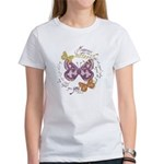 Vintage Butterflies Women's T-Shirt