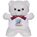 Getting Wet Teddy Bear