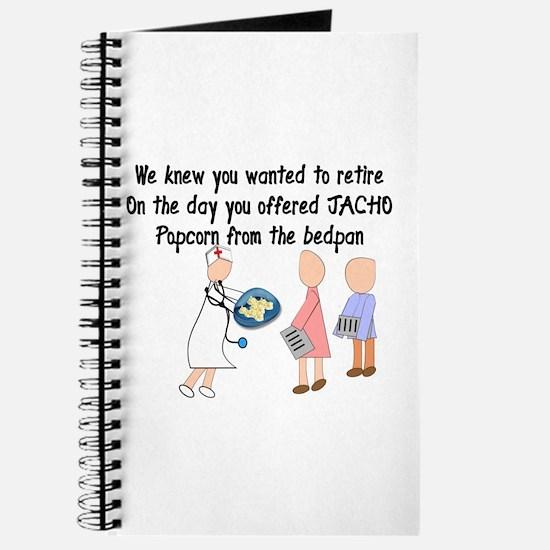 Retired Nurse Story Art Journal