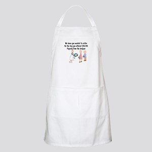 Retired Nurse Story Art Apron