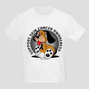 Skin Cancer Dog Kids Light T-Shirt