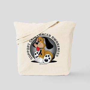 Skin Cancer Dog Tote Bag