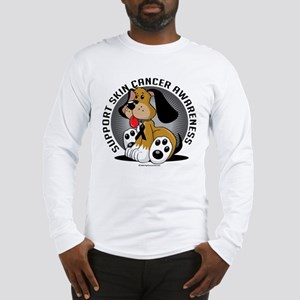 Skin Cancer Dog Long Sleeve T-Shirt