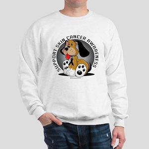Skin Cancer Dog Sweatshirt