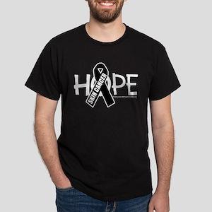 Skin Cancer Hope Dark T-Shirt