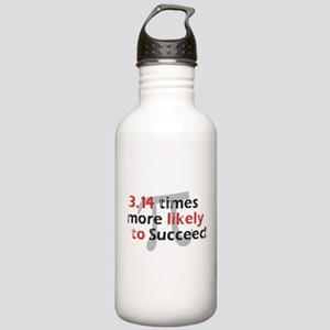 Pi Success Funny Math Stainless Water Bottle 1.0L