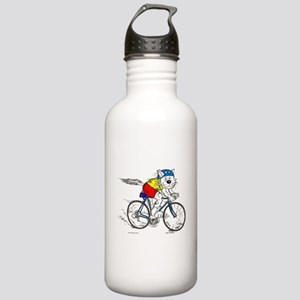 Bicycle Cat Stainless Water Bottle 1.0L