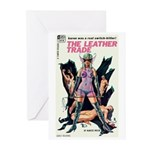 """Greeting (10)-""""The Leather Trade"""""""