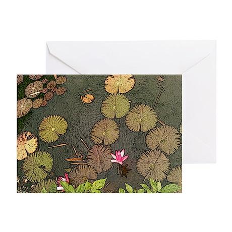 Lotus Pond Greeting Cards (Pk of 10)