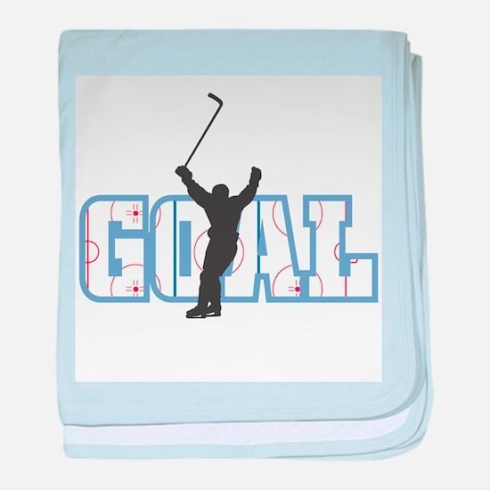 GOAL! Hockey Infant Blanket
