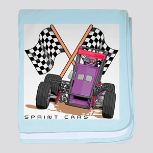 Sprint Cars Infant Blanket