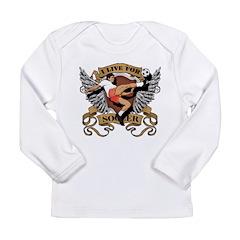 I Live For Soccer Long Sleeve Infant T-Shirt