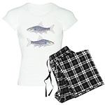 Congo Barb Line draw Invertx2 Pajamas