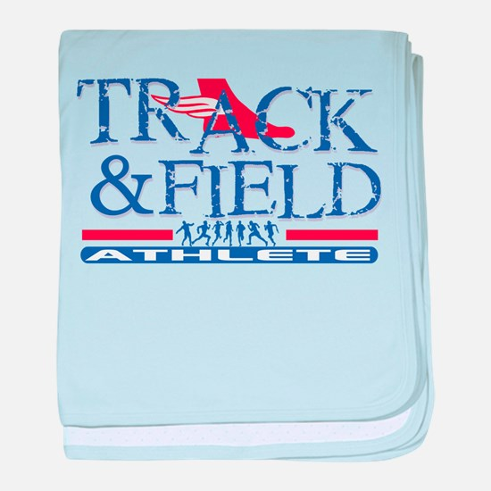 Track and Field Athlete Infant Blanket