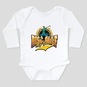 Disc Golf My Game Long Sleeve Infant Bodysuit