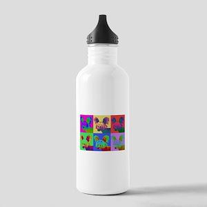 Op Art Crestie Stainless Water Bottle 1.0L