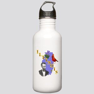 State of Illinois Stainless Water Bottle 1.0L