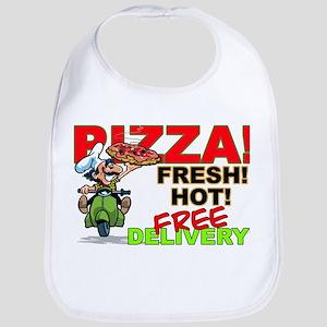 Pizza Sign Bib