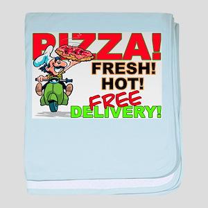 Pizza Sign Infant Blanket