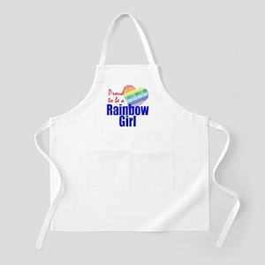 Rainbow Girls Apron