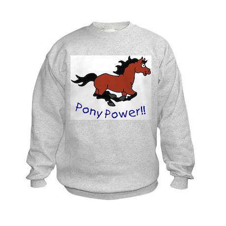 Pony Power Kids Sweatshirt