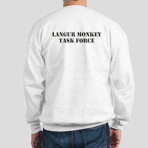 Langur Monkey Sweatshirt