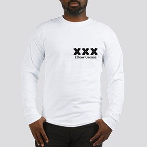 Elbow Grease Logo 12 Long Sleeve T-Shirt Design Fr