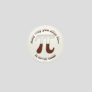 Chocolate Cream Pi Mini Button