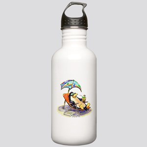 tRoPiCaL pEnGuIn Stainless Water Bottle 1.0L