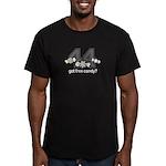 Got Free Candy Men's Fitted T-Shirt (dark)