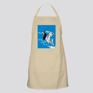 fly fishing trout fish Apron