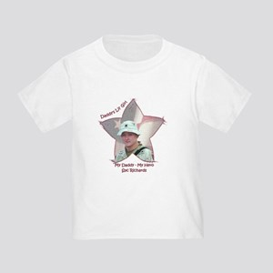 My Daddy My Hero Toddler T-Shirt