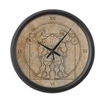 The MUSCLEHEDZ Man - Large Wall Clock